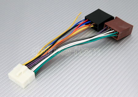cla iso_a clarion 16 pin iso car stereo audio wire connector loom ebay clarion wiring harness adapter at mifinder.co