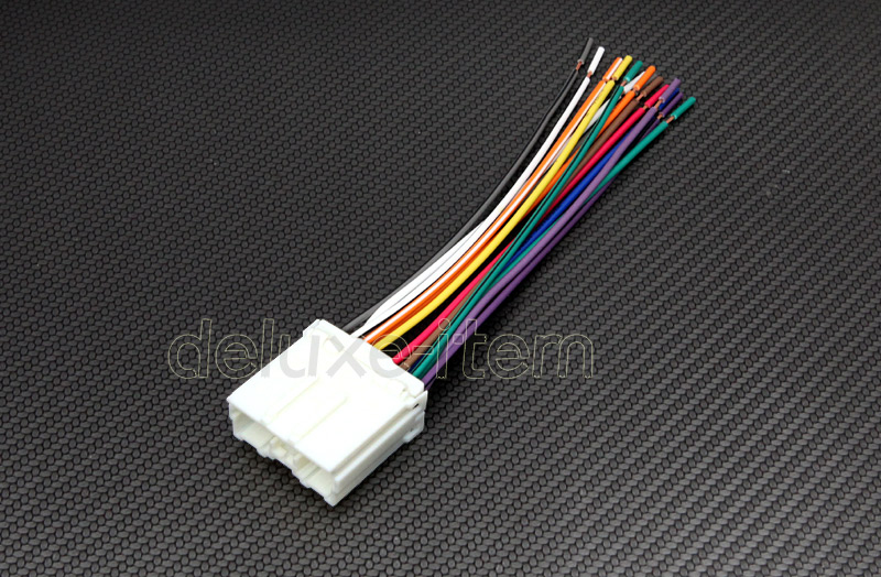 2002 Mitsubishi Eclipse Radio Wiring Harness