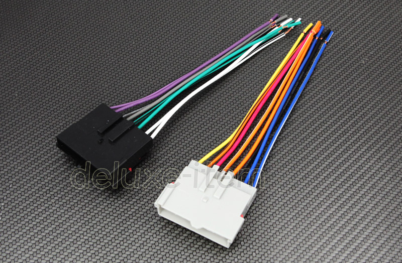1994 lincoln town car stereo diagram 1994 image car stereo radio wiring harness plugs for ford lincoln mercury on 1994 lincoln town car stereo