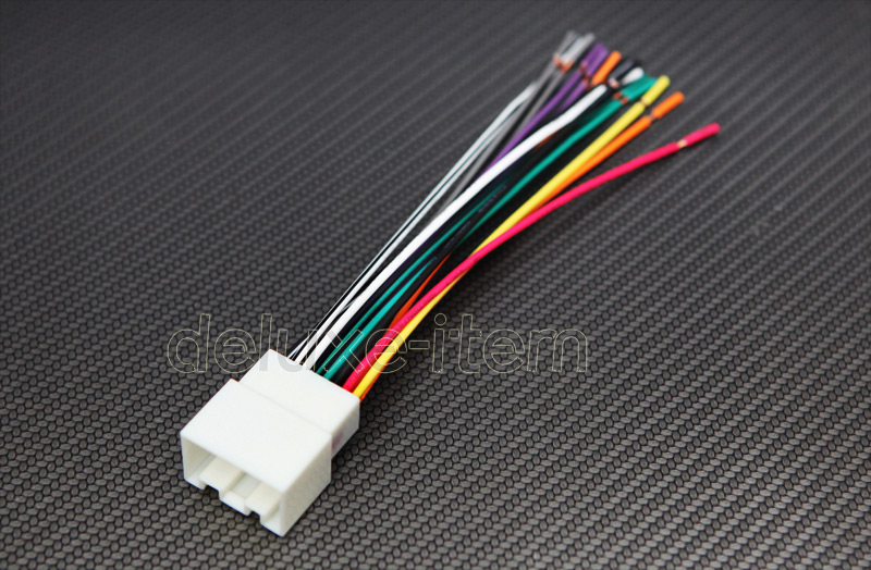 car stereo wire harness plugs for ford lincoln mercury mazda nissan 1998 2010 ebay