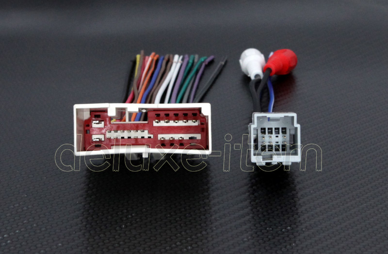 New Car Stereo Wire Wiring Harness Plugs For Ford Lincoln