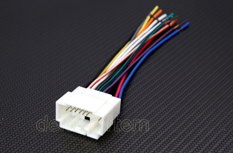 Car Stereo Radio Power Wire Wiring Harness Adapter For