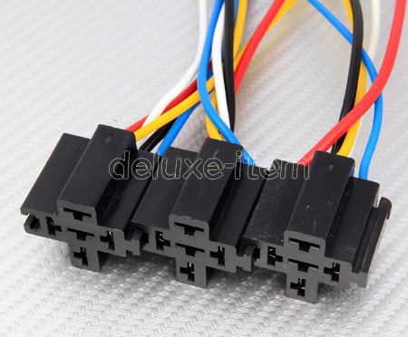 12v dc bosch style 20a 30a car auto spdt relay harness. Black Bedroom Furniture Sets. Home Design Ideas