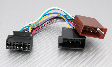 jvc 16 pin iso wiring harness lead wire connector loom jvc 16 pin iso harness adapter for car stereo