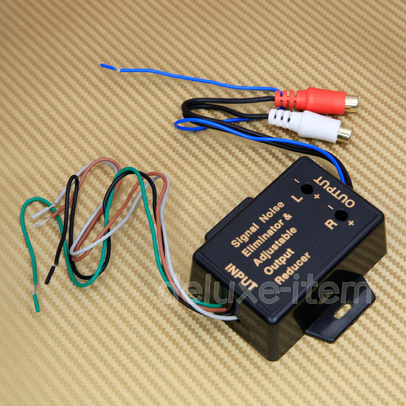Car Stereo Speaker Wire Input To Rca Output Line Level