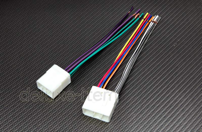 new car stereo wire wiring harness plugs for mazda tribute mpv miata 1988 2002 ebay