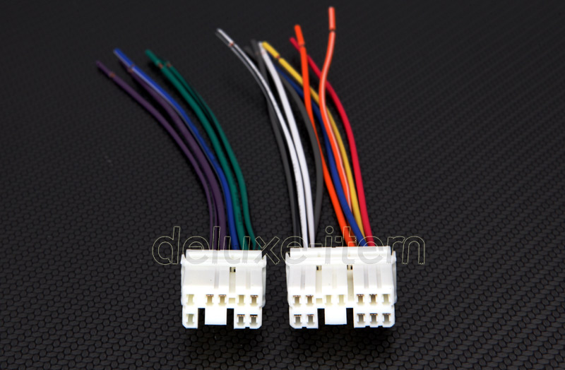 replace car stereo radio power wire wiring harness adapter
