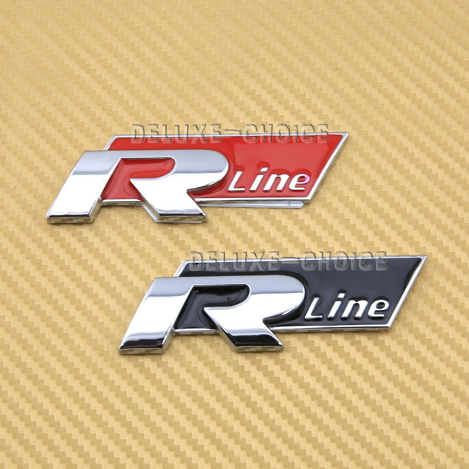 s line r line car body exterior chrome metal emblem logo. Black Bedroom Furniture Sets. Home Design Ideas